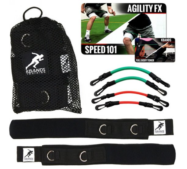 Kbands Speed and Strength Leg Resistance Bands